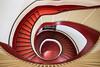 The red eye (Elbmaedchen) Tags: unterwegsmitsabinemarzahnundfrankguschmann staircase stairwell stairs stufen treppenhaus treppenauge escaliers escaleras roundandround helix berlin schöneberg