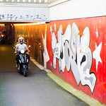 Maastricht (Nederland - Pays-Bas) - Murals in a Tunnel thumbnail