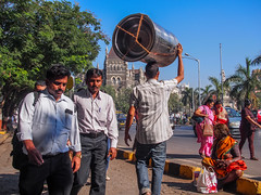 LR Mumbai 2015-530 (hunbille) Tags: birgittemumbai5lr india mumbai bombay fort hutatma chowk martyrs square martyrssquare flora fountain florafountain