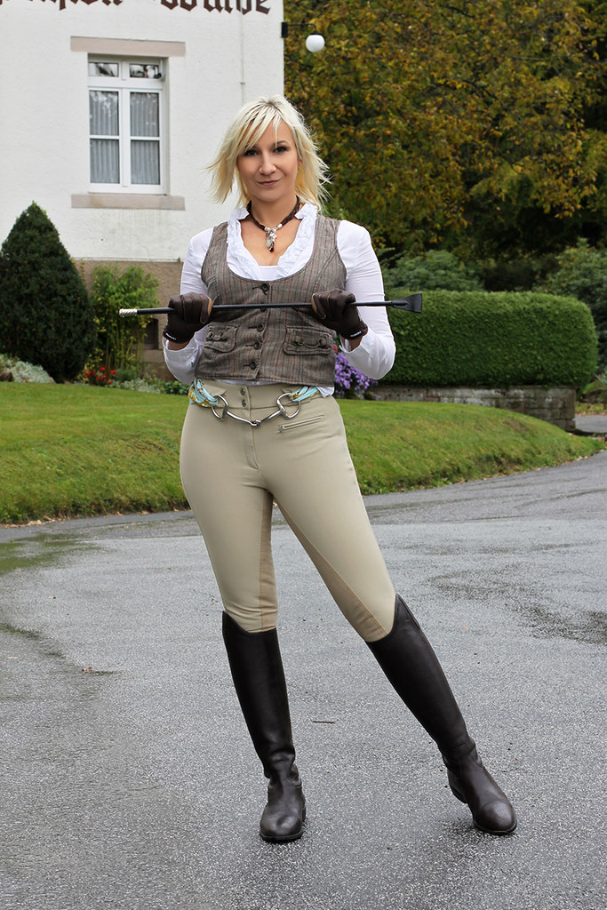 Can not her sexy jodhpurs opinion