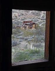 Leadfield Mining Town (Ron Wolf) Tags: deathvalleynationalpark historic leadfield nationalpark tituscanyon abandoned ghosttown mine structure window california mining