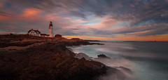 Seashore 海岸 (kaising_fung) Tags: seascape rocky lighthouse afternoon canon wave motion movement