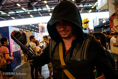 Japan Expo 2017 4e jrs-85 (Flashouilleur Fou) Tags: japan expo 2017 parc des expositions de parisnord villepinte cosplay cospleurs cosplayeuses cosplayers française français européen européenne deguisement costumes montage effet speciaux fx flashouilleurfou flashouilleur fou manga manhwa animes animations oav ova bd comics marvel dc image valiant disney warner bros 20th century fox star wars trek jedi sith empire premiere ordre overwath league legend moba princesse lord ring seigneurs anneaux saint seiya chevalier du zodiaque