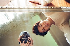 I see you (2) (kowei) Tags: mirror reflection asian camera smile friends boys analog film filmcamera taiwannese