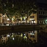 A NIGHT CORNER OF STRASBOURG   -   UN RINCON NOCTURNO DE ESTRASBURGO thumbnail