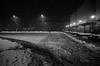Into the Storm (Koprek) Tags: ricoh gr snow storm low light nightlight streetphotography croatia varaždin 2018