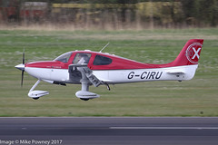 G-CIRU - 2009 build Cirrus SR20 X, arriving on Runway 24 at Friedrichshafen during Aero 2017 (egcc) Tags: 2023 aero aerofriedrichshafen aerofriedrichshafen2017 bodensee cirrent cirrus cirrusdesign edny fdh friedrichshafen gciru lightroom mciru n164cs sr20 sr20x