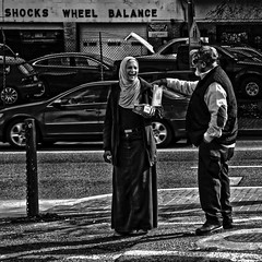 """In Diversity, Inclusion, And Love There Is Beauty And Strength"", Martin Luther King Jr. Avenue, Historic Anacostia, Washington, DC (Gerald L. Campbell) Tags: streetphotography street squareformat spirituality spiritualindifference socialdocumentary alienation aloneness blackwhite bw citylife community dc digital economicjustice freedom historicanacostia indifference injustice inequality justice love martinlutherkingjravenue portraitphotography portrait urbanphotography urban uscapitol washingtondc yearning yeswecan canonsx60hs"