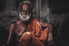 India (♫♪♭Happy new year ♫♪) Tags: enricodot india travel man orange old street streetphotographer streetlife portrait people portraits persone