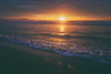 On the shore (Mimadeo) Tags: summer beach sunset vintage retro sea seascape sunrise nature water sun ocean background orange red travel sky wave waves surf sunlight landscape horizon light relax holiday golden shore summertime filter effect instagram hipster old toned