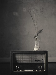 602 (Daniel Hammelstein) Tags: lumix lumixg9 mft microfourthirds bonn art fine portraitfotografie kunst radio vintage retro old grain blackandwhite monochrome schwarzweiss nocticron lens