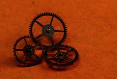 A ClockWork Orange (Lo8i) Tags: aclockworkorange movetitle clockworks orange 52weeks2018 macro movietitles gear