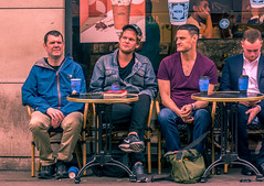 4 Strangers (t.drone) Tags: nex7 kit lens soho london that black guy with drone thatblackguywithadrone street photography streetphotography