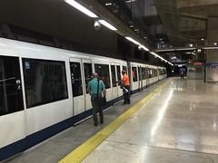 Madrid-Barajas International Metro train (Debrian Media) Tags: flickr madrid madridbarajasinternationalairport metro spain train airport mad madterminal4