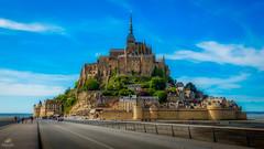 Mont St Michel (Don Sullivan) Tags: mont st michel montstmichel normandy france island chapel europe