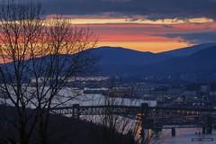Colourful Skies (Clayton Perry Photoworks) Tags: vancouver bc canada winter burnaby capitolhill explorebc explorecanada night lights sunset