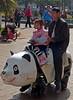 Riding the Panda Bear (Wolfgang Bazer) Tags: green lake park 翠湖公园 kunming yunnan china father daughter vater und tochter panda bear