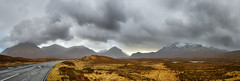 06 - The Cuillins, Skye (Donnie Canning) Tags: wwwdonniephotographycouk donnie donniecanning olympus microfourthirds photography photo photographer lens canning em1 1240mm pro 2018 scotland highlands january thecuillins skye isleofskye outerhebrides sky skyline cloud sun outdoor landscape land ground foreground nature naturalworld view vista road