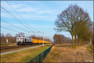 RheinCargo DE61 + Bauer + DE668, Hengelo Oost
