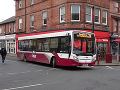 Yourbus 1415 Ilkeston (Guy Arab UF) Tags: yourbus 1415 yy67usl alexander dennis e20d enviro 200 bus pelham street ilkeston derbyshire independent buses