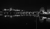 Charles bridge & Castle at Night B&W (mhardie86) Tags: prague city cityskyline citylandscape praguecastle charlesbridge bridge river vitava nikond610 blackandwhite