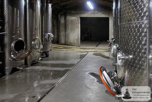 Weinkeller des Weinguts Dr. Dahlem
