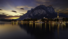 Twilight (Massetti Fabrizio) Tags: sunrise sun sunset sunlight light landscape landscapes lugano italia night nikon svizzera cityscape clouds twilight creposcolo cael zeiss 21mm distagon nicon d3