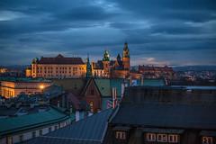 Blue hour (Vagelis Pikoulas) Tags: krakow poland travel city cityscape landscape urban canon 6d view europe november 2017 autumn architecture buildings