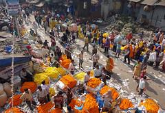 flower market (geneward2) Tags: flower market kolkata howrah