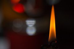 What's Behind The Candle? (gleavesm) Tags: flame macromondays candle candlelight macro