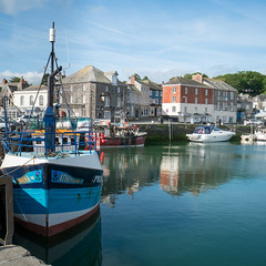Early doors in Padstow….. (AJFpicturestore) Tags: padstow cornwall cornishharbours workingboats athena fishing alanfoster