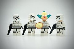 LEGO Stormtrooper Krusty (Pasq67) Tags: lego minifigs minifig minifigure minifigures afol toy toys flickr legography pasq67 starwars stormtrooper france simpson mattgroening krusty 2018 thesimpsons