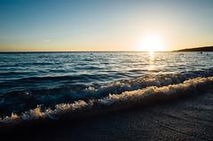 白沙灣 (Philip@Tamsui) Tags: 恆春鎮 臺灣省 台灣 ricoh grdigital grd grii 白沙灣 沙灘 seaside seashore 海邊 海灘 sunset 夕陽 日落