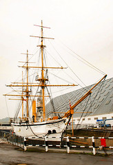 HMS Gannet (philbarnes4) Tags: boat medway historicchathamdockyard philbarnes dslr nikon nikond80 chatham docks dockyard masts bow hmsgannett