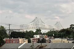 Commodore Barry Bridge, Chester, Pennsylvania (Paul McClure DC) Tags: aug2014 chester pennsylvania chestercounty scenery architecture historic