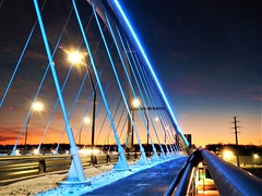 Lowry Ave Bridge (guidedbybicycle) Tags: minneapolis minnesota city winter urban park light sky twilight dusk sunset
