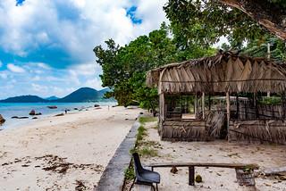 The bar is closed! Praslin Island Seychelles