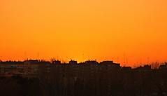 Barrio de la Almozara-Zaragoza (portalealba on holidays) Tags: zaragoza aragon españa spain sunset sol atardecer silueta portalealba canon eos1300d 1001nights 1001nightsmagiccity