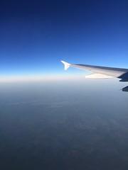 Atlanta (isabelothon25) Tags: avión cielo nubes ala plane sky cloudy blue sunset