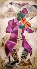 Marc Chagall, Green Violinist, 1923-24 9/9/17 #lacma #theater