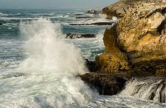 L57 (jennypowisphotography) Tags: wave action vaalkrans seaspray rocks coastline