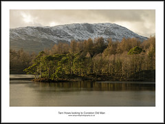 Tarn Hows and Coniston Old Man (bullboy1983) Tags: cumbria lakedistrict tarnhows coniston water fells snow trees clouds icy frozen canon eos70d autumn colours landscape tree winter