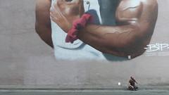 A15784 / bip graffiti (janeland) Tags: sanfrancisco california 94103 wwwbipgraffiticom believeinpeople noceiling eastjessiestreet detail bodybuilding girl human graffiti may 2017 skewed