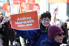 DSCF4101 (United Steelworkers - Metallos) Tags: iwd2018 iwd unitedsteelworkers usw labour labor tradeunions workers solidarity ndp ontariondp uswstac women rally march breakfast demonstration toronto canada activism placards feminist