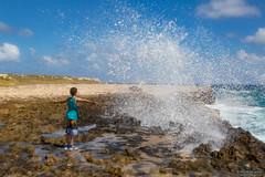 Ops (Silver_63) Tags: devil bridge antigua caraibi onda mare oceano antille isola island