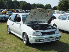 Ford Fiesta Rs 1800 (K289 LMH) (Ray's Photo Collection) Tags: abbeyschool faversham kent charity car show classic oldtimer ford fiesta rs 1800 k289lmh