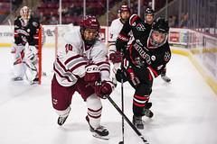 UMass hockey v Northeastern 011918-13 (dailycollegian) Tags: umass amherst hockey university massachusetts mullins center northeastern team celebration win caroline oconnor