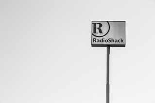 Radio Shack Sign M
