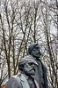 Fathers (Pictures in my head) Tags: germany berlin statue trees visit with friends students history art free time city beautiful photography powerful fathers winter cold