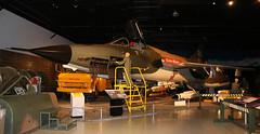Spice Girl (crusader752) Tags: usaf usairforce republic f105d thunderchief 624259rk cajunqueen display preserved vietnamwar seasia hangar warnerrobins airforcemuseum georgia